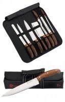 Set de couteaux avec housse de transport 9 pièces SWISS