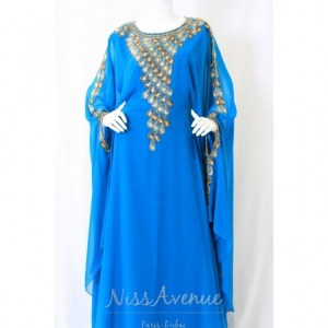 Vente robe de Dubaï manches longues