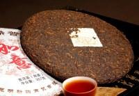 Galette de thé pu-erh cuit (post-fermenté) du Yunnan Ruyi 357g cuvée spéciale