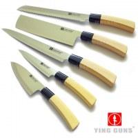 Lots de couteaux Japonais haute qualité idéal