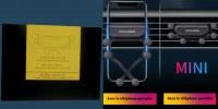 Support téléphone Voiture universel, grille d'aération, noir