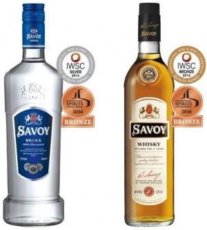 Vodka et whisky