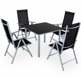Table + 4 chaises pliantes