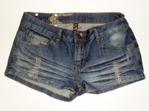 LOT SHORTS EN JEAN DEGRIFFE JENNYFER