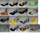 Lot 100 chaussures femmes