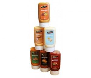 Palette de sauces froides diversifiées en 300ml