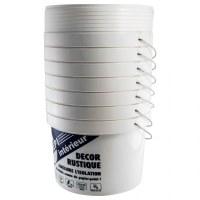 Lot en Destockage de Sceau plastique 10L Palettes de 500 Pots Sceaux