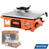 Scie de carrelage sur table électrique Norton Clipper 800W 200mm TT200 EM