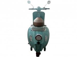 Scooter électrique 3000 watts e rétro 50 cm³ 140 km d autonomie look vintage