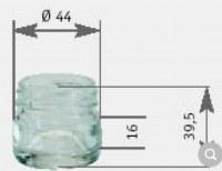Matériel Apiculture - 400 petit pots couvercle or