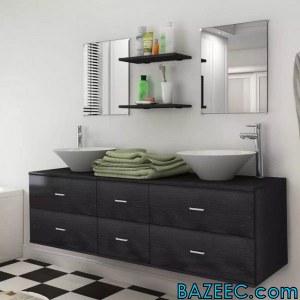 Ensemble pour salle de bains complet
