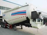 Le citerne à ciment transport en varc pulvérulent ciment en varc remorque 3 essieux TIT...
