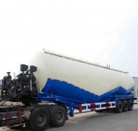 Semi-remorque bulk ciment transport 73 mètre cube ciment cargo remorque ciment en poudre