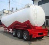 Semi-remorque citerne porte cement en varc transport ciment en poudre