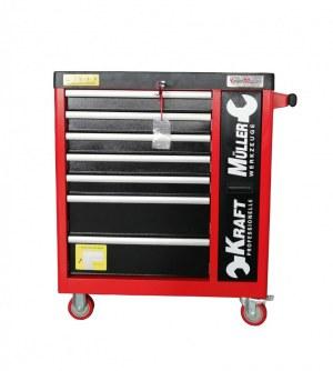 Servante d'atelier 7/7 pro renforcer KRAFTMULLER avec outils