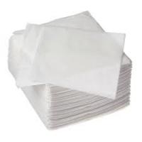1500 Serviettes blanches 30x30cm 1 pli