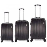 Set de 3 VALISES de voyage - Laguage - Trolley - 4 roues 360°
