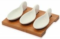 Set Gourmet Beiker en Bambou et en Céramique - Objet publicitaire AVEC ou SANS logo -...