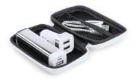 Set Power Bank Nacorap en PVC - Objet publicitaire AVEC ou SANS logo - Cadeau client -...
