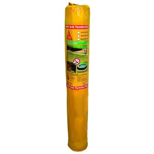 Barrière physico-chimique anti termites sous forme de film polyéthylène Sika Anti Termi...