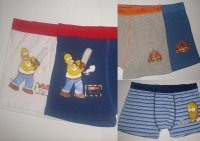"Boxer Adulte Licence ""THE SIMPSONS"""