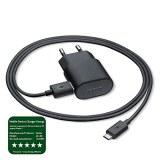 Nokia AC60E Mini Chargeur de Voyage 1500 mAh + Cable Micro USB 1m Noir