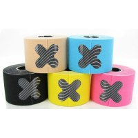 Bandes élastiques collantes sport couleur kiné kinésiologie Tape - Taping