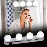 SHOP-STORY - STUDIO GLOW : Lumière de Maquillage - 4 Spots pour Miroir