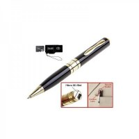Mini stylo caméra espion hd avec micro intégré