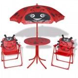 Table + 2 chaises + parasol ENFANTS