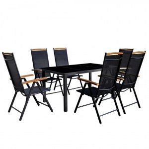 Table + 6 chaises ALU