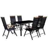 Table + 6 chaises ALU