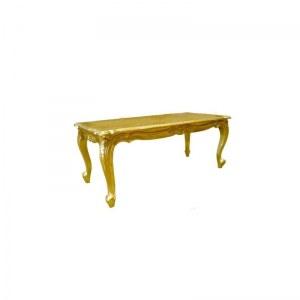 Table basse baroque 120 cm