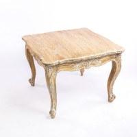 Table basse baroque dorée