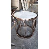 Table basse scandinave D 50 cm