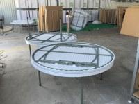Table Pliante Ronde 152cm Super Renforcé