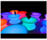 Table basse lumineuse leds 16 couleurs