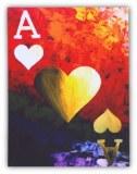 Tableau déco Poker AS Las Vegas USA