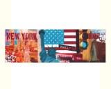 Tableau panoramique déco américaine New York