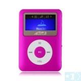 2 pouces TF (Micro SD) Card Slot Lecteur MP3 avec écran LCD (4 Go)- Bleu clair, argent