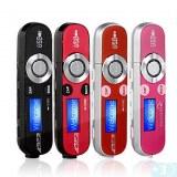 1,2 pouces Lecteur MP3 avec écran LCD (FM) (4 Go)- Rose, bordeaux