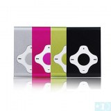 Micro SD Card Reader Lecteur MP3 -4 Go- Noir, fuchsia
