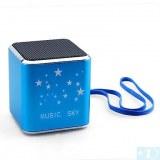 Rechargeable Mini haut-parleur MP3 + TF (4 Go)