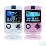 2.4 MP4 Player Game pouces avec appareil photo numérique (4 Go, blanc / rose)