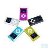 4 Go Lecteur MP3 avec écran OLED et le Président- Noir, fuchsia