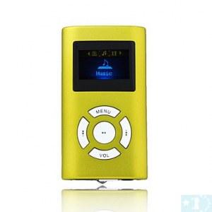 4 Go Lecteur MP3 avec écran OLED et le Président- Fuchsia, vert