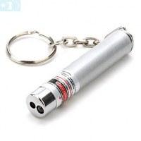 Laser 2 en 1 avec Laser Rouge et Lumière LED (3xAG13)