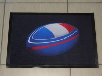 LOT TAPIS RUGBY 40 X 60 FRANCE