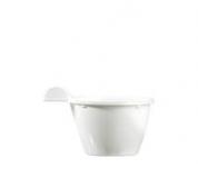650 Tasses à café blanches 10cl jetables