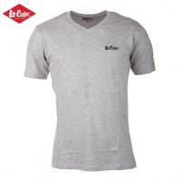 Tee-Shirt lee cooper® Col v 100% Coton Neuf 100% Authentique